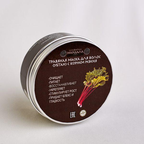 Травяная маска (убтан) для волос Мандала